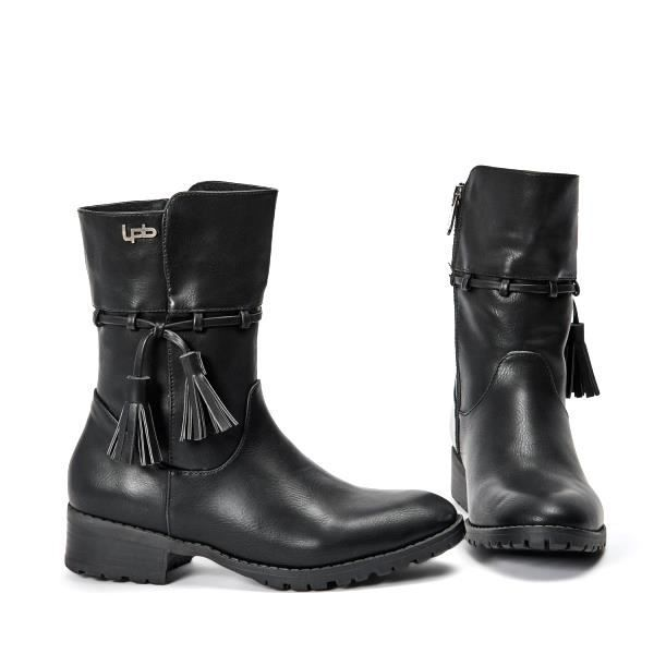 Boots, Bottines Les P'tites BombesBottine 4-Gladys Noir
