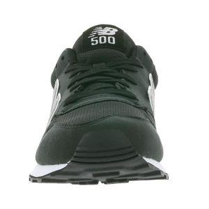 New Balance 500 Hommes Sneaker Noir GM500RM W9P2bXE