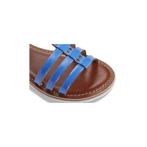 dcd53ca7d2a ... SANDALE - NU-PIEDS HAITI bleu - Sandales femme TERRE DE MARINS BLEU 4.  ‹›