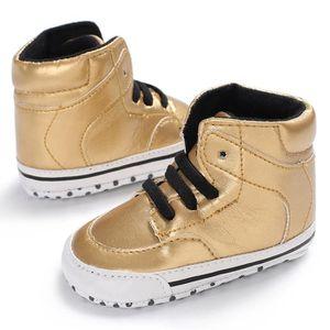 Lavieni ®Bambin Bébé Fille Garçon Solide Semelle Souple Anti-slip Sneakers Toile Crèche Chaussures YJJ71219381 RvxstqN