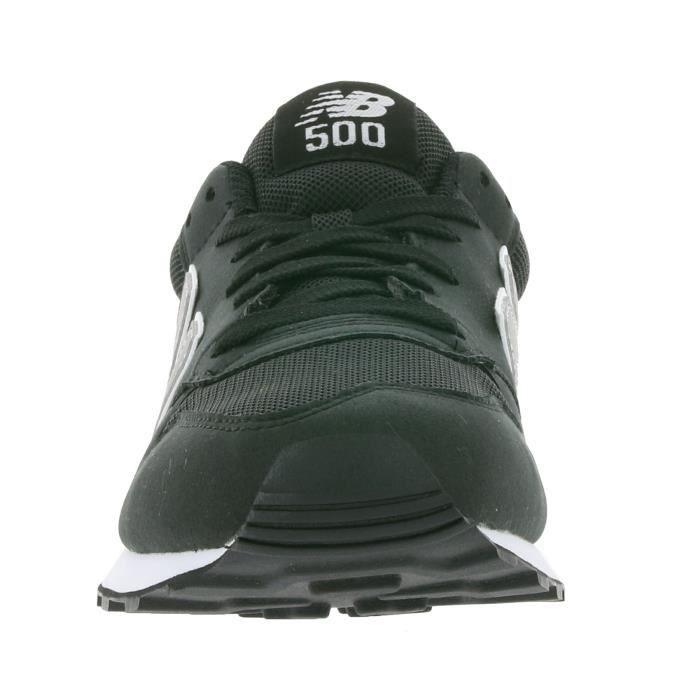 New Balance 500 Hommes Sneaker Noir GM500RM