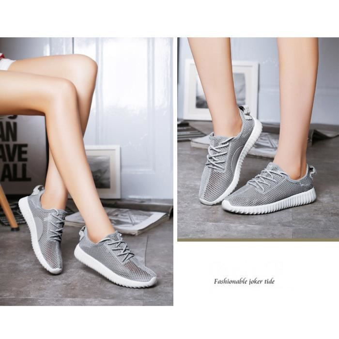 Fille Sneakers Sport Baskets Course Chaussons Chaussures Maille Lacet ztywHzBvEi