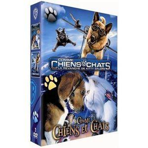 DVD DESSIN ANIMÉ DVD Coffret Comme chiens et chats + Comme chiens e