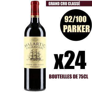 VIN ROUGE X24 Château Malartic-Lagravière 2014 75 cl AOC Pes