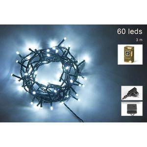 GUIRLANDE DE NOËL Guirlande de Noël 60 LED extérieure - 5 mm x 3 m -