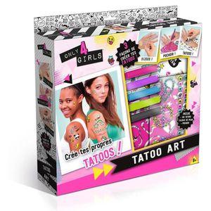 JEU DE STICKERS TATOO ART - Crée tes propres tatoos