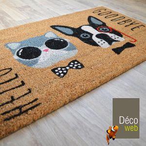 tapis exterieur coco achat vente tapis exterieur coco pas cher soldes d s le 10 janvier. Black Bedroom Furniture Sets. Home Design Ideas