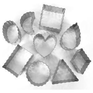 EMPORTE-PIÈCE  Emporte pièce inox pour modelage Contours ondulés