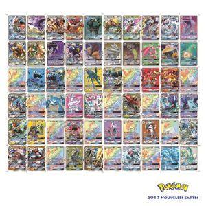 CARTE A COLLECTIONNER 60pcs Pokemon GX Cartes SOLEIL ET LUNE