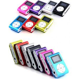 LECTEUR MP3 Lecteur MP3 +écouteur Écran LCD Métal Mini Clip-on