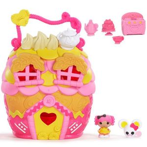 FIGURINE - PERSONNAGE Lalaloopsy TINIES™ - Crumbs Playhouse avec des Acc