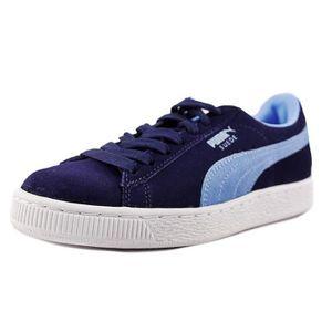 magasin en ligne 393a1 69167 Puma Suede Classic + Daim Baskets Bleu - Achat / Vente ...