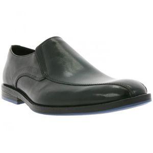 BOTTE Clarks Prangley Step bottes en cuir noir Hommes 26