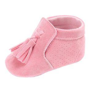 BOTTE Nouveau-né infantile bébé double semelle souple en cuir unique occasionnels appartements chaussures@RoseHM fwHVFkKUJC