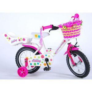 VÉLO ENFANT Vélo Enfant Fille Ashley 12 Pouces Frein Avant sur