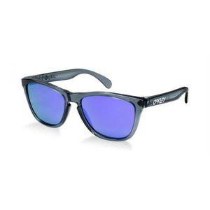 0c9f94f1768c1f LUNETTES DE SOLEIL Lunettes Oakley Frogskin Crystal Black Violet I…
