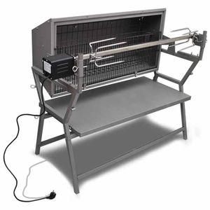MINI-FOUR - RÔTISSOIRE Rôtissoire en fer et en acier inoxydable  pour rôt