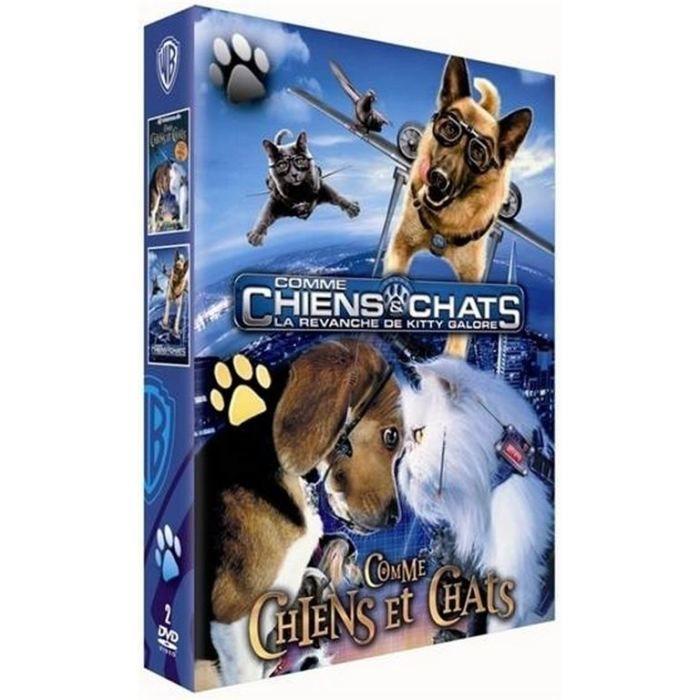 DVD FILM COFFRET COMME CHATS ET CHIENS 1&2 /V 2DVD
