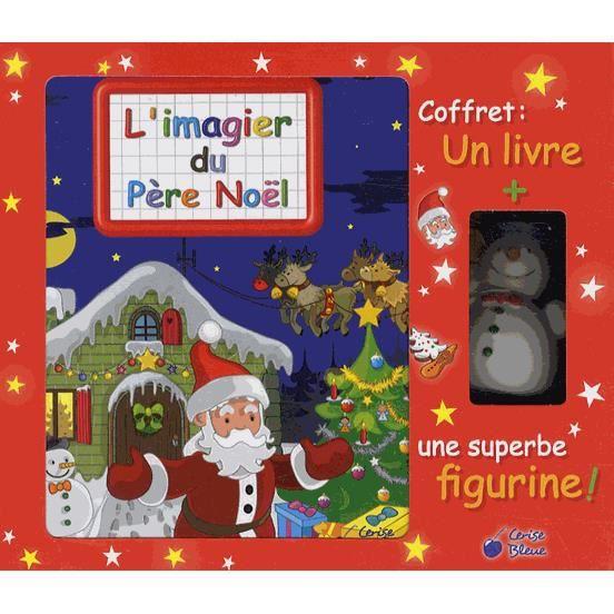 Coffret L'imagier du Père Noël. Avec une figurine - Vernius