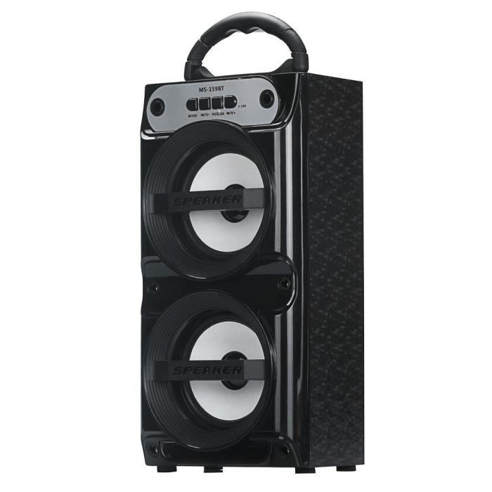 Extérieur Sans Fil Bluetooth Haut-parleur Portable Super Bass Avec Radio Usb - Tf Aux Fm *w289