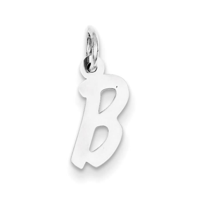 Argent Sterling charme-initiale B