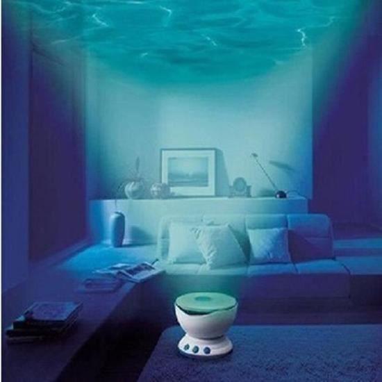 parleur Lumière Océan Mini Musique Usb Lampe Waves Led Veilleuse Haut Entrée Projection Vagues Projecteur Nuit Spot Mp3 qXSvUw76t