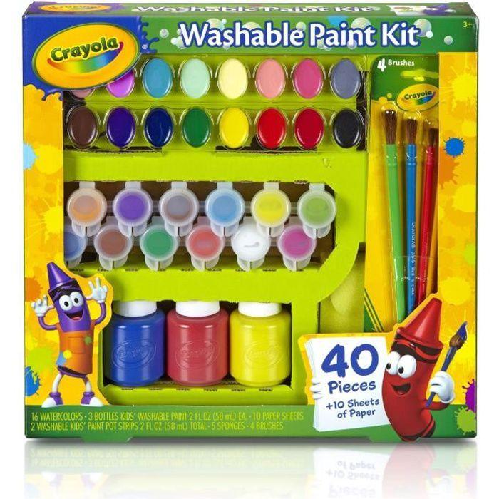 peinture crayola achat vente jeux et jouets pas chers. Black Bedroom Furniture Sets. Home Design Ideas