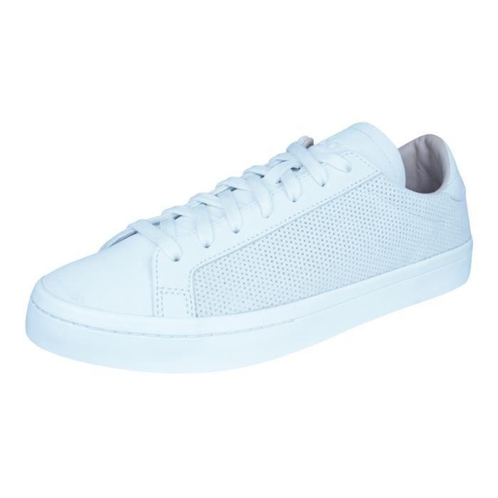 adidas Originals Court Vantage baskets Homme Blanc 9