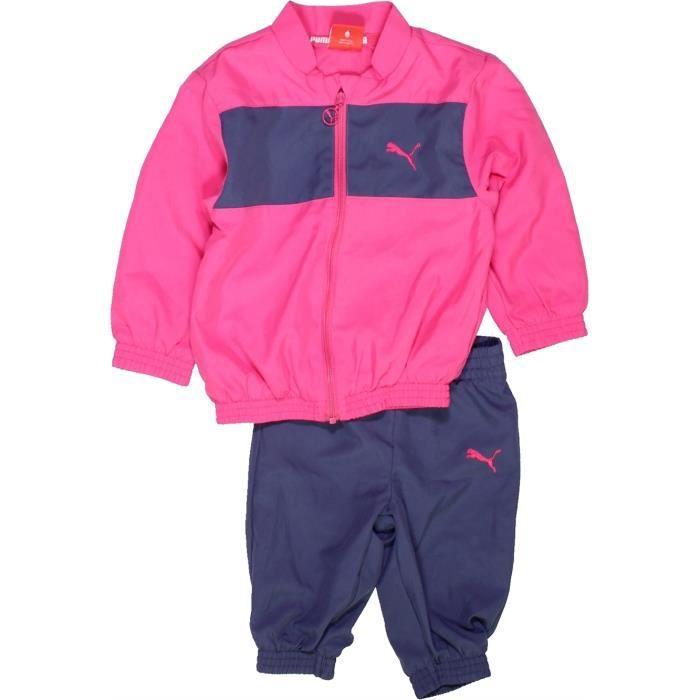 c19b2478771a8 Jogging bébé fille PUMA 3 mois rose hiver  998117 -207541419 Rose ...