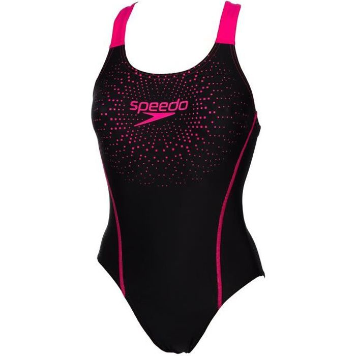 a2217f6ff7 Maillot bain 1 pièce Gala logo black pink - Speedo Noir Noir - Achat ...