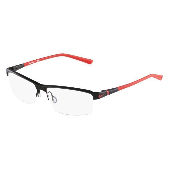 3effc98ab0a5d3 Lunettes de vue Nike 6050-1 Noir mat - Rouge mat Noir, Rouge - Achat ...
