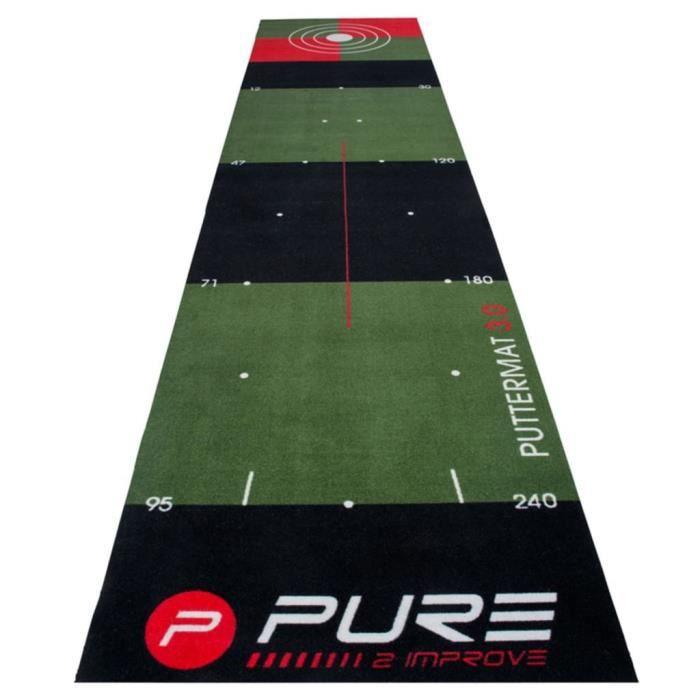 Pure2improve Tapis De Putting De Golf 300 X 65 Cm P2i140010 Prix