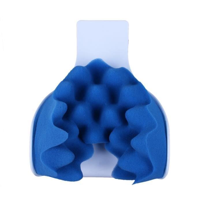 oreiller de traction de massage de soulagement de la douleur du cou et de soutien et de l'epaule
