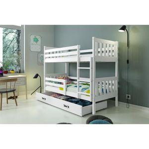 lit enfant carino achat vente lit enfant carino pas cher cdiscount. Black Bedroom Furniture Sets. Home Design Ideas