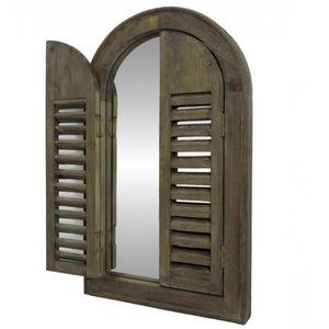 miroir volets achat vente miroir volets pas cher soldes d s le 10 janvier cdiscount. Black Bedroom Furniture Sets. Home Design Ideas