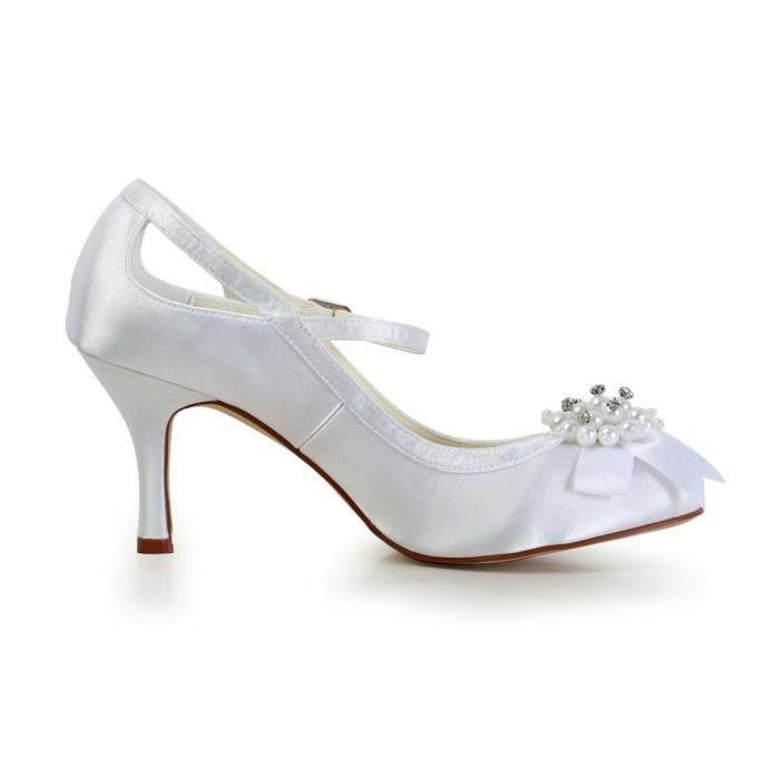 Jia Jia Wedding A3113A chaussures de mariée mariage Escarpins pour femme