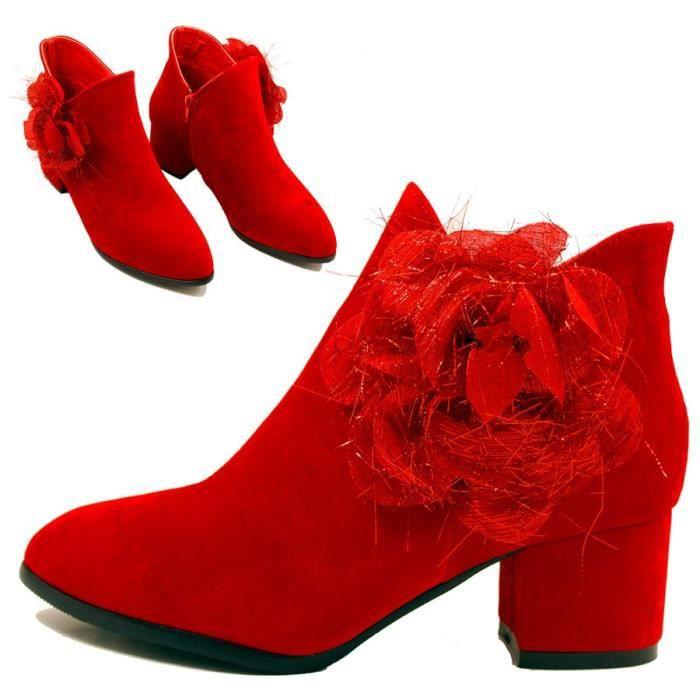 Les nouvelles bottes de mariage de 2017 sont des bottes de mariage avec une fermeture éclair et polaire chaussures de mariée