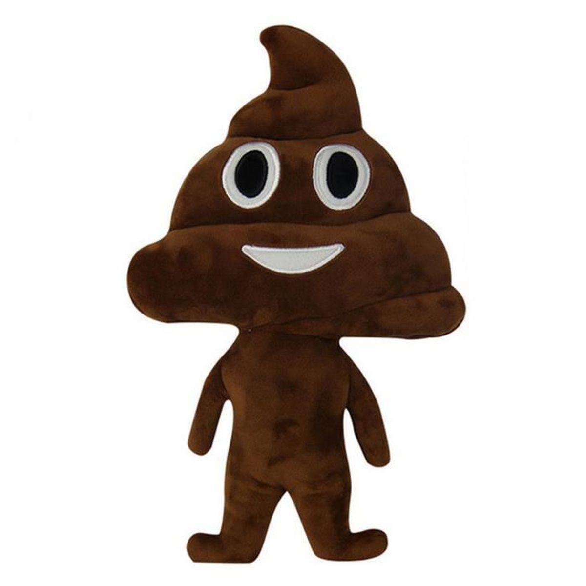 Très TEMPSA Mignon Emoji Caca Coussins en Peluches Jouets Décor de  NW31