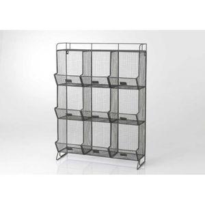etagere grillage achat vente etagere grillage pas cher soldes d s le 10 janvier cdiscount. Black Bedroom Furniture Sets. Home Design Ideas