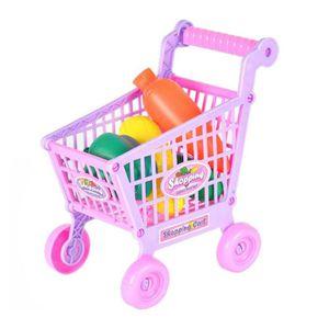 CHARIOT DE MARCHÉ Chariot miniature de chariot à main de jouet de ca