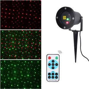 PROJECTEUR LASER NOËL Projecteur Laser dynamique Lampwin Lumière étoilée