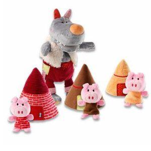 THÉÂTRE - MARIONNETTE Marionnettes - Loup et les 3 petits cochons