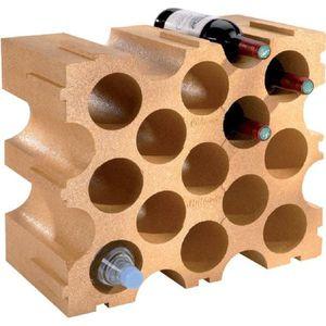 porte bouteille casier bouteilles en polystyrne mottez saumon 1 - Porte Bouteille Cuisine