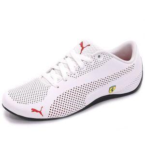 Puma - DRIFT CAT 4 ALT CLOSURE Blanc Blanc - Achat / Vente basket  - Soldes* dès le 27 juin ! Cdiscount