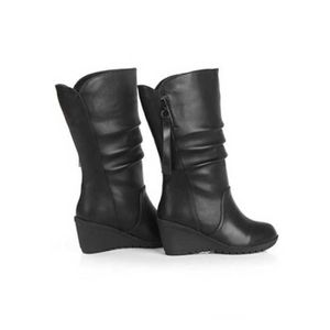 BOTTE Femmes Automne Hiver chaud Chaussures pour femmes