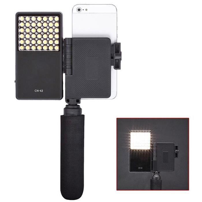 Lampe Smartphone Mobile Avec Pour Panneau Led Grip Poignée Torche Iphone D9E2HI
