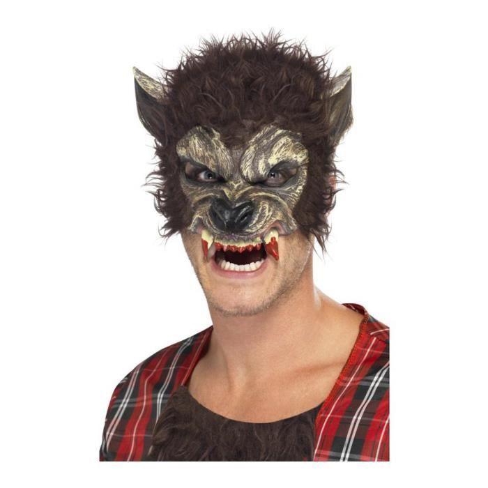 masque de loup garou achat vente jeux et jouets pas chers. Black Bedroom Furniture Sets. Home Design Ideas