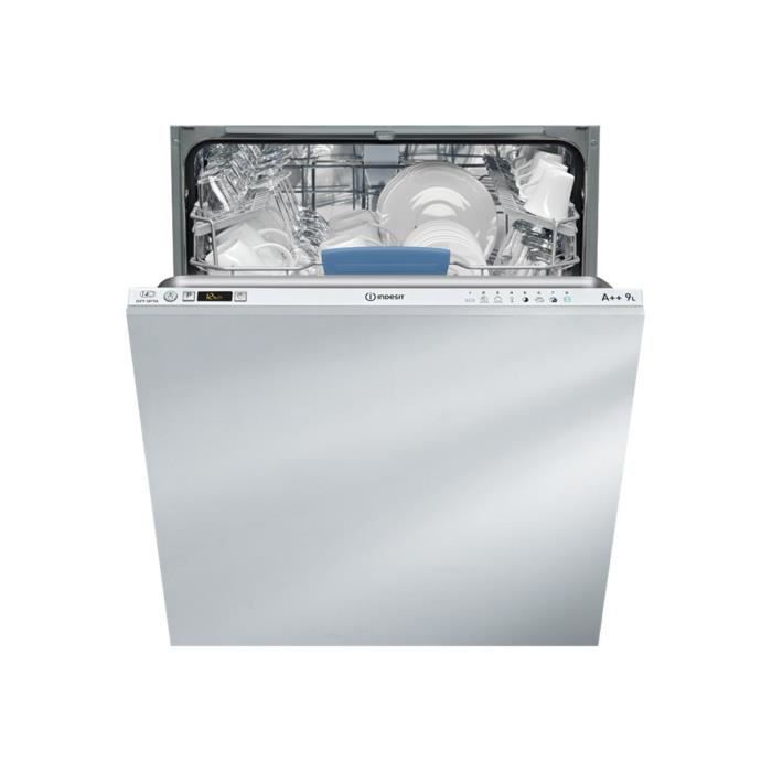 Indesit Difp 28t9 A Eu Lave Vaisselle Intégrable Largeur 595 Cm