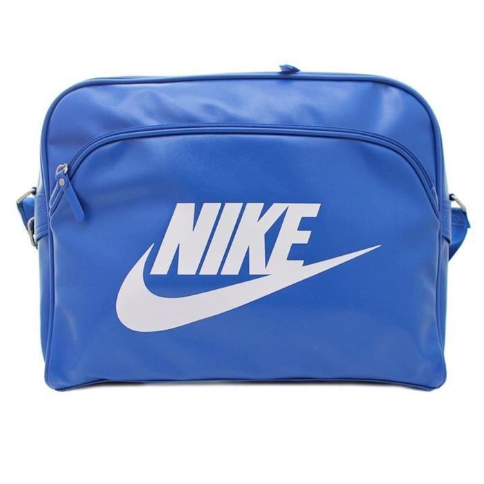 1dac18de72 Sacs Nike Heritage SI Track Bleu - Achat / Vente sacoche ...