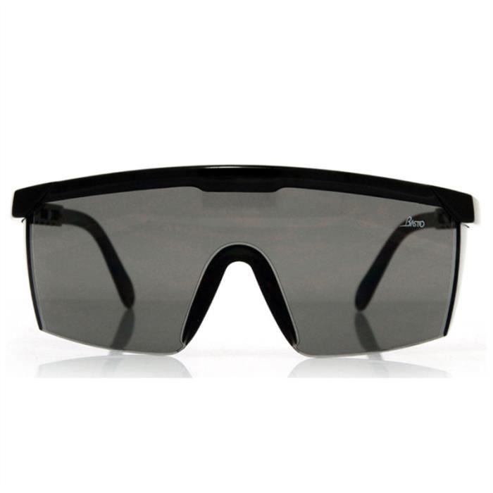 Anti-UV Protecteur Anti-éclaboussures Réglable Lunettes Anti-buée de  Sécurité (Noir) 2f3a752ebbb9
